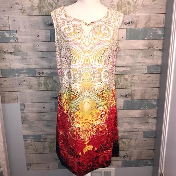 Haani Dresses & Skirts - Haani summer boho tank dress sz L             0051